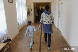 Психоневрологическая больница детское отделение Челябинск, коридор больницы, больница