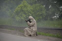 Клипарт, официальный сайт министерства обороны РФ. Екатеринбург, химзащита, оружие, стрелок, солдат