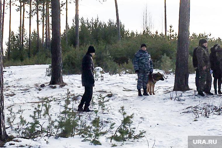 Следственный эксперимент по убийству двух девушек на горе Уктус ФОТО Лукманова