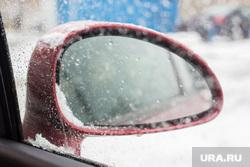 Первый снег. Нижневартовск, зеркало, зима, погода, первый снег