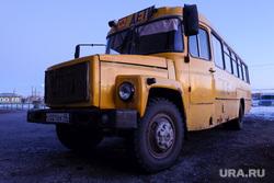 Встреча губернатора Курганской области Алексея Кокорина с учителями Звериноголовской школы, школьный автобус, желтый автобус