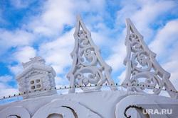 Виды Екатеринбурга, ледовый городок