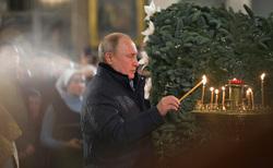 Сайт президента России, церковные свечи, путин владимир