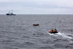Клипарт, официальный сайт министерства обороны РФ. Екатеринбург, ВМФ, спасатели на воде, береговая охрана