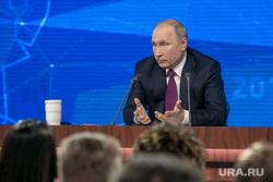 Пресс-конференция Президента России Владимира Путина. Москва, портрет, путин владимир
