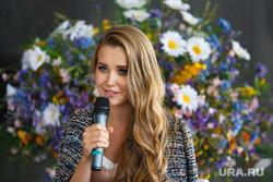 Пресс-конференция по конкурсу Мисс Екатеринбург-2017 за день до финального шоу, аниховская елизавета
