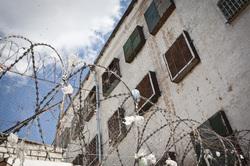 Клипарт depositphotos.com., колючая проволока, зона, колония, тюрьма