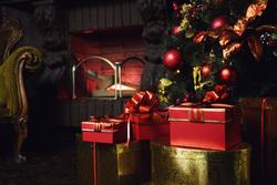 Клипарт депозитфото, подарок, новый год