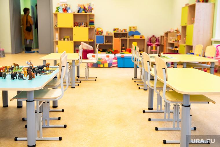 Торжественное открытие четвертого здания детского сада № 43 в микрорайоне Академический. Екатеринбург