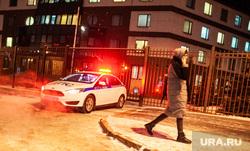 Укрепление у здания ФСБ. Тюмень