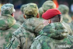 Репетиция торжественного построения к Дню Победы. Челябинск, армия, краповый берет, спецназ