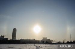 Солнечное гало в Екатеринбурге, солнечное гало