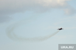 Летная группа Стрижи на авиашоу в честь Дня города. Челябинск, армия, стрижи, авиашоу, высший пилотаж, истребитель, самолет, аэродром шагол, миг29, летная группа стрижи, военно-космические силы