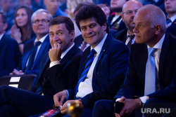 Открытие Второго всемирного боксерского форума. Екатеринбург, высокинский александр, куйвашев евгений, улыбки