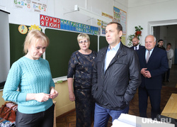 Визит врио губернатора Шумкова Вадима в Каргапольский район. Курган, учитель, шумков вадим