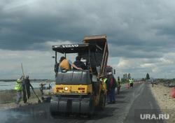 Ремонт. Челябинск., каток, асфальт, ремонт дороги