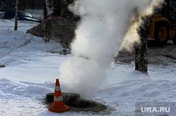 ЖКХ. Челябинск, коммунальная авария, зима, жкх, мороз, теплотрасса, пар, колодец теплотрассы
