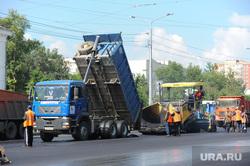 Ремонт дороги. Челябинск, дорожная революция, асфальт