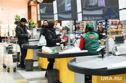 Продукты. Цены. магазин Проспект. Челябинск., касса, супермаркет, продуктовый магазин