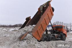 Вывоз снега. Челябинск., снегоуборочная техника, вывоз снега