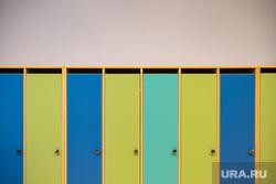 Торжественное открытие четвертого здания детского сада № 43 в микрорайоне Академический. Екатеринбург, детский сад, шкафчики, дошкольное учреждение, шкафчики детские, ясли