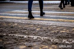 Виды Екатеринбурга, снег, слякоть, прохожие, переход, грязь, екатеринбург , грязьбург