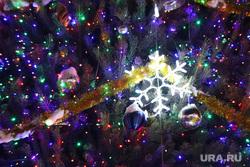 Иллюминация. Курган, праздник, елочные украшения, город курган, иллюминация, площадь ленина, новый год