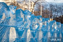 Техническая приемка Ледового городка на площади 1905 года. Екатеринбург, ледяные скульптуры, ледяной городок, ледовые фигуры