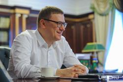 Интервью с Алексеем Текслером. Челябинск, улыбка, портрет, текслер алексей, зеленая лампа