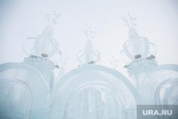 Ледовый городок. Пермь, ледовые скульптуры
