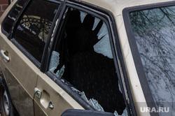 Виды Екатеринбурга, машина, автомобиль, разбитое окно, угон, кража автомобиля, взлом автомобиля