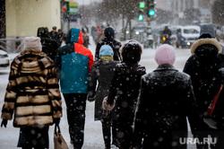 Снегопад в Екатеринбурге, снег, зима, снегопад