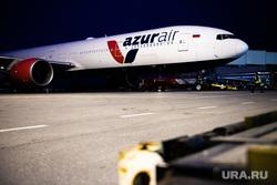Флагманский самолет Boeing 777-300ER авиакомпании «AZUR air». Екатеринбург, боинг, azur air, самолет, азур эйр, авиакомпания azur air, боинг 777-300, boeing 777-300ER