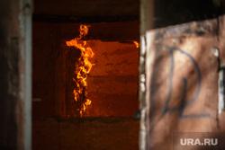 Пожар на Белинского, 163а. Екатеринбург, пламя, огонь, пожар