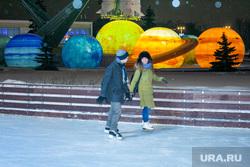 Каток на ВДНХ. Москва, каток, катание на коньках