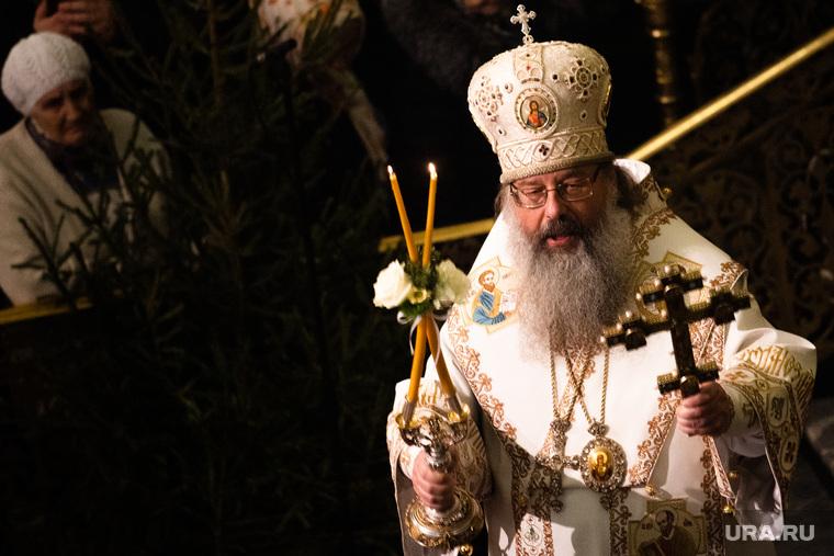 Рождественское богослужение в Свято-Троицком кафедральном соборе. Екатеринбург