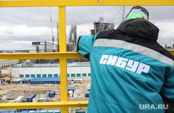 Строительство второй очереди завода СИБУР. Тобольск, сибур, стройка, запсибнефтехим