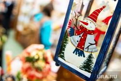 Подготовка к Рождеству Христову в Ново-Тихвинском женском монастыре. Екатеринбург, снеговик, новогодние украшения, рождество, новый год, новогодние подарки, новогодние игрушки
