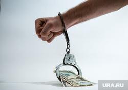 Клипарт по теме Деньги, банковская карта, взятка. Сургут, руки в наручниках, финансовое преступление, взятка, наручники, доллары, деньги, финансовое рабство, рука