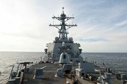 Клипарт.  Американский эсминец Porter, фото с сайта Военно-морские сил США. Екатеринбург , сша, эсминец, рorter