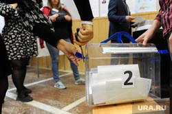 Избирательный участок 803. Подсчет бюллетеней. Челябинск, избирательная комиссия, коиб, выборы, переносная урна для голосования