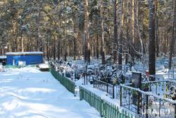 Кладбище. Кетово, зима, кладбище