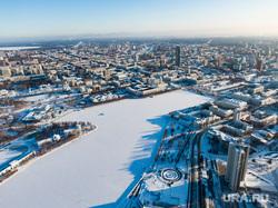 Виды Екатеринбурга, зима, река исеть, город екатеринбург, виды екатеринбурга