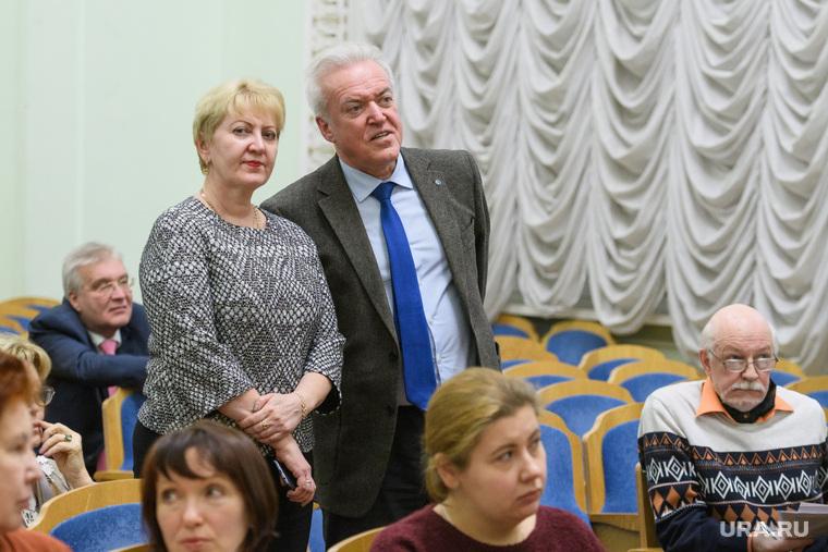 Выборы глав департаментов УрФУ. Екатеринбург