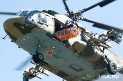 Учения по поиску и эвакуации космического корабля «Союз». Челябинская область, поселок Увельский, вертолет, ми-8, спасательная люлька, эвакуация