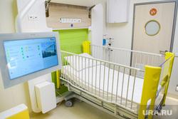 Открытие второго корпуса клиники УГМК-Здоровье. Екатеринбург, больничная палата, медицина, здравоохранение, больница, детская больница, частная клиника, угмк здоровье, угмк-здоровье, кровать для ребенка, детская палата