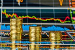 Клипарт depositphotos.com , монеты, биржевые графики, фондовая биржа, инвестиции, фондовый рынок, экономика, деньги