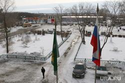 День депутата в Альменевском районе, альменево, село, флаг россии