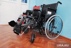 Визит врио губернатора Шумкова в Притобольный  район. Курган, инвалидная коляска, инвалидное кресло