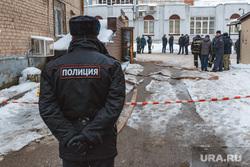 Авария трубопровода на улице Советской Армии, в отеле